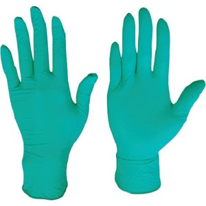 (使い捨て手袋)川西 ニトリル使いきり手袋粉無250枚入グリーンSSサイズ 2061GR-SS unoonline