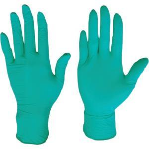 (使い捨て手袋)川西 ニトリル使いきり手袋粉無250枚入グリーンMサイズ 2061GR-M unoonline