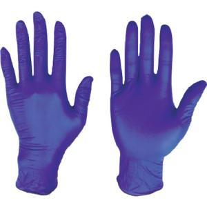 (使い捨て手袋)川西 ニトリル使いきり手袋粉無300枚入ダークブルーMサイズ 2062BL-M unoonline