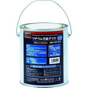 (グリス・ペースト)TRUSCO リチウム万能グリス #0 2.5kg CGR-25-0|unoonline