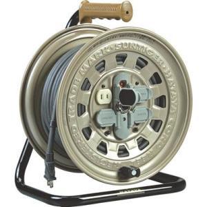 (コードリール 電工ドラム 100V)ハタヤ サンタイガーリール 単相100V 20m  GT-20|unoonline