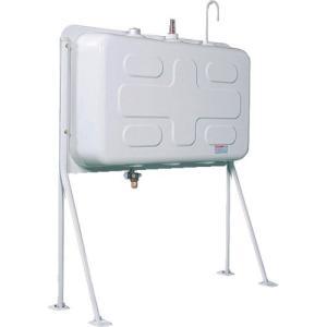 (オイルタンク)ダイケン 屋外用灯油タンク ホームタンク壁寄せ片面タイプ標準脚195型 HT-K195VH|unoonline