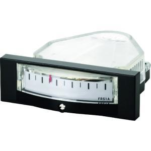 (圧力計)マノスター 微差圧計 マノスターゲージ <パネル横目盛形> FR51AHV1000D|unoonline