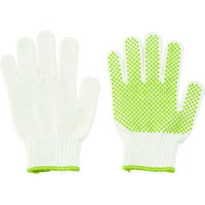 (すべり止め手袋)TRUSCO リサイクルすべり止め手袋 女性用 フリーサイズ DPM-PET75-W unoonline