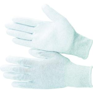 (静電気防止手袋)ブラストン PU手の平コート制電編手袋LL BSC-21-LL|unoonline