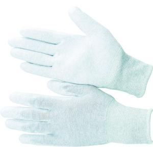 (静電気防止手袋)ブラストン PU手の平コート制電編手袋M BSC-21-M|unoonline