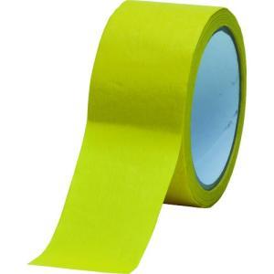 (マスキングテープ)TRUSCO 耐熱マスキングテープ クレープ紙 高耐水性 60mm×50m TM-WP-60|unoonline