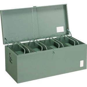 (車載用 収納箱 道具箱)トラスコ 中型車載用 工具箱 中皿付 900X420X370 F9000