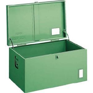 (車載用 収納箱 道具箱)トラスコ 中型車載用 工具箱 中皿なし 700X420X370 F7001