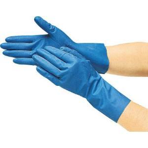 (作業手袋 軍手)トラスコ 耐油耐溶剤ニトリル薄手手袋 Lサイズ  DPM-2364|unoonline