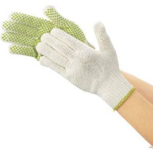 (作業手袋 軍手)トラスコ リサイクルすべり止め手袋 フリーサイズ  DPM-PET75 unoonline