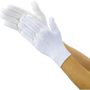 (作業手袋 軍手)トラスコ 安全すべり止め手袋 薄手 Lサイズ  DPM-39L unoonline