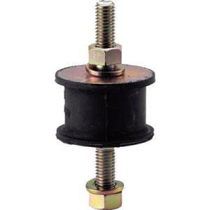 (防振材)トラスコ 丸形防振ゴム 両ボルトタイプ 最大荷重1550N TA509