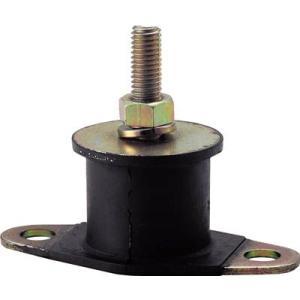 (防振材)トラスコ 丸型防振ゴム 片座金タイプ 最大荷重5200N TA714|unoonline