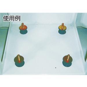 (防振材)トラスコ 丸型防振ゴム 片ボルトタイプ 最大荷重980N TB504|unoonline|02
