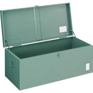 (車載用 収納箱 道具箱)トラスコ 中型車載用 工具箱 中皿なし 1200X420X370 F12001