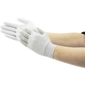 (作業手袋 軍手)ショーワグローブ SHOWA A0170制電ラインパ−ム手袋 Lサイズ  A0170-L|unoonline
