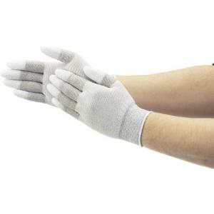 (作業手袋 軍手)ショーワグローブ SHOWA A0161制電ライントップ手袋 Lサイズ  A0161-L|unoonline