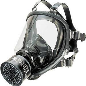 (防毒マスク)シゲマツ 直結式防毒マスク中濃度タイプ  GM-164|unoonline