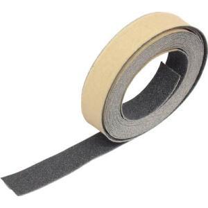 (すべり止めテープ 滑り止めテープ)トラスコ ノンスリップテープ 屋外用 25mmX5m ブラック  TNS-25|unoonline