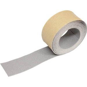 (すべり止めテープ 滑り止めテープ)トラスコ ノンスリップテープ 屋外用 50mmX5m グレー  TNS-50|unoonline