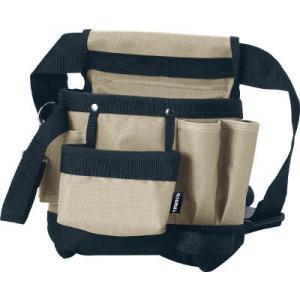 (腰袋 工具袋 工具入れ おしゃれ)トラスコ ツールバッグ ツールホルスター 5ポケット  TTH-200 unoonline