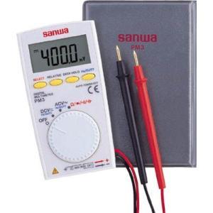 (電気測定器 テスタ)三和電気計器 SANWA ポケット型デジタルマルチメータ PM3|unoonline