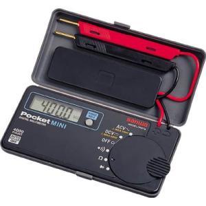 (電気測定器 テスタ)三和電気計器 SANWA ポケット型デジタルマルチメータ PM7A|unoonline
