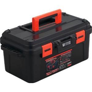 (プラスチック 工具箱 ツールボックス 道具箱 おしゃれ)TRUSCO トラスコ スーパーハードボックス 全長500mm  TSHB-500|unoonline