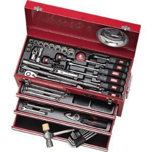 (工具セット ツールセット チェストタイプ)KTC 京都機械工具 工具セット(工具セット ツールセット チェストタイプ)SK4586X|unoonline