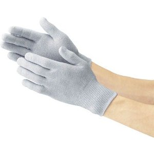 (作業手袋 軍手)トラスコ 静電気対策用手袋 ノンコートタイプ Mサイズ  TGL-2995M|unoonline