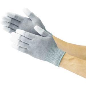 (作業手袋 軍手)トラスコ 指先コート静電気対策用手袋 Mサイズ  TGL-2996M|unoonline
