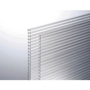 直送品 代引不可(板材)光 ポリカ中空ボード透明4mm 1820X910  KTP1894W-1|unoonline