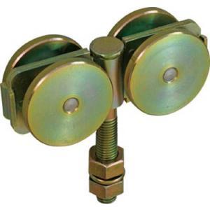 【特長】吊りボルトに傾きが生じても、車軸がフレキシブルに動き、常に4輪が均等に負荷を受けます【用途】...