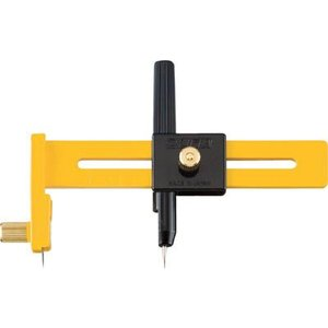 【特長】コンパスを使う要領で紙・ビニール・フィルムなどを円形にカットできます。直径15cmまで対応し...