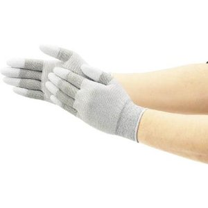 (作業手袋 軍手)ショーワグローブ SHOWA 簡易包装制電ライントップ手袋10双入 Lサイズ  A0161-L10P|unoonline
