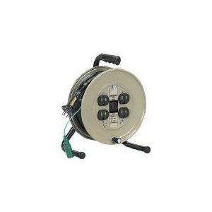 (コードリール 電工ドラム 100V)ハタヤリミテッド JSリール 単相100V 10m  JS-101|unoonline