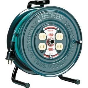 (コードリール 電工ドラム 100V)ハタヤリミテッド アッパーリール 単相100V 3.5sq 20m  PS-20|unoonline