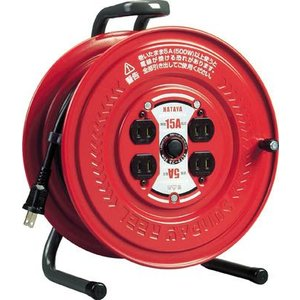 (コードリール 電工ドラム 100V)ハタヤリミテッド サンデーリール 単相100V 1.25SQ 20m  S-20|unoonline