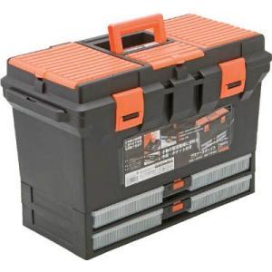(プラスチック 工具箱 ツールボックス 道具箱 おしゃれ)TRUSCO トラスコ プロツールボックス  TTB-802|unoonline
