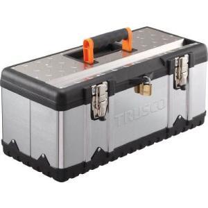 (スチール 工具箱 ツールボックス 道具箱 おしゃれ)TRUSCO トラスコ ステンレス工具箱 Sサイズ  TSUS-3026S|unoonline