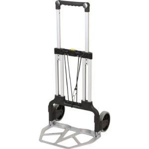 (二輪運搬車 台車)トラスコ 折りたたみキャリーカート 100kgタイプ  TAC-100|unoonline