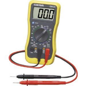 (電気測定器 テスタ)カスタム デジタルマルチメータ  DM-01|unoonline