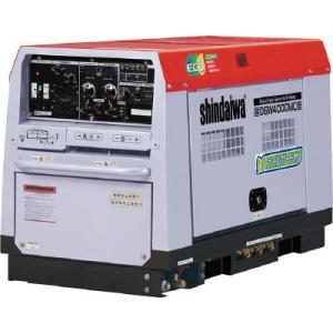 直送品 代引不可 (エンジン溶接機)新ダイワ ディーゼルエンジン溶接機 兼発電機 400A DGW400DMC unoonline