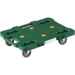 (平台車 台車)トラスコ ルートバン 400X600 緑  MPB-600-GN|unoonline