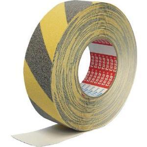 (すべり止めテープ 滑り止めテープ)テサテープ アンチスリップテープ イエロー/ブラック 50mmx6m  60943-TR-6|unoonline