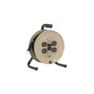 (コードリール 電工ドラム 100V)ハタヤリミテッド 温度センサー付コードリール単相100V10M  JS-101S|unoonline