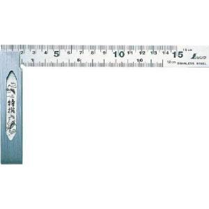 (スコヤ 水準器 角度計)シンワ測定 完全スコヤ15cm表裏cm目盛 62009|unoonline