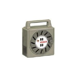 (コードリール 電工ドラム 100V)ハタヤリミテッド 温度センサー付コードリール単相100V10M  NJ-101S|unoonline
