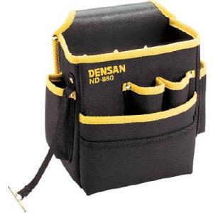 (腰袋 工具袋 工具入れ おしゃれ)デンサン 電工キャンバスハイポーチ  ND-860 unoonline
